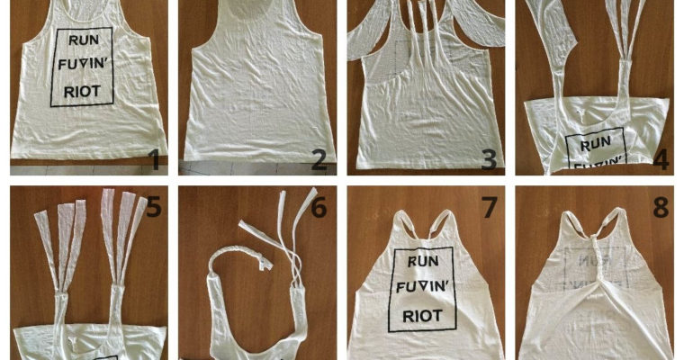 Így készíthetsz trendi edzős trikót házilag