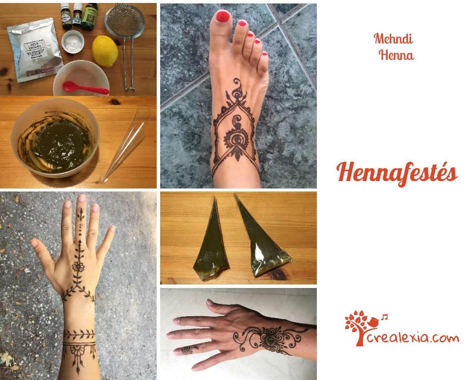 Hennafestes alapok