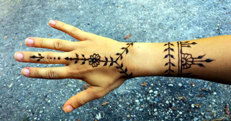 Hennafestés lépésről lépésre