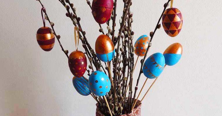 Húsvéti tojásfestés – hungarocell tojás
