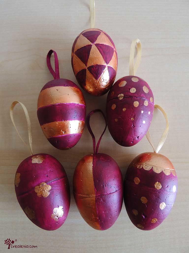 húsvéti festett tojás
