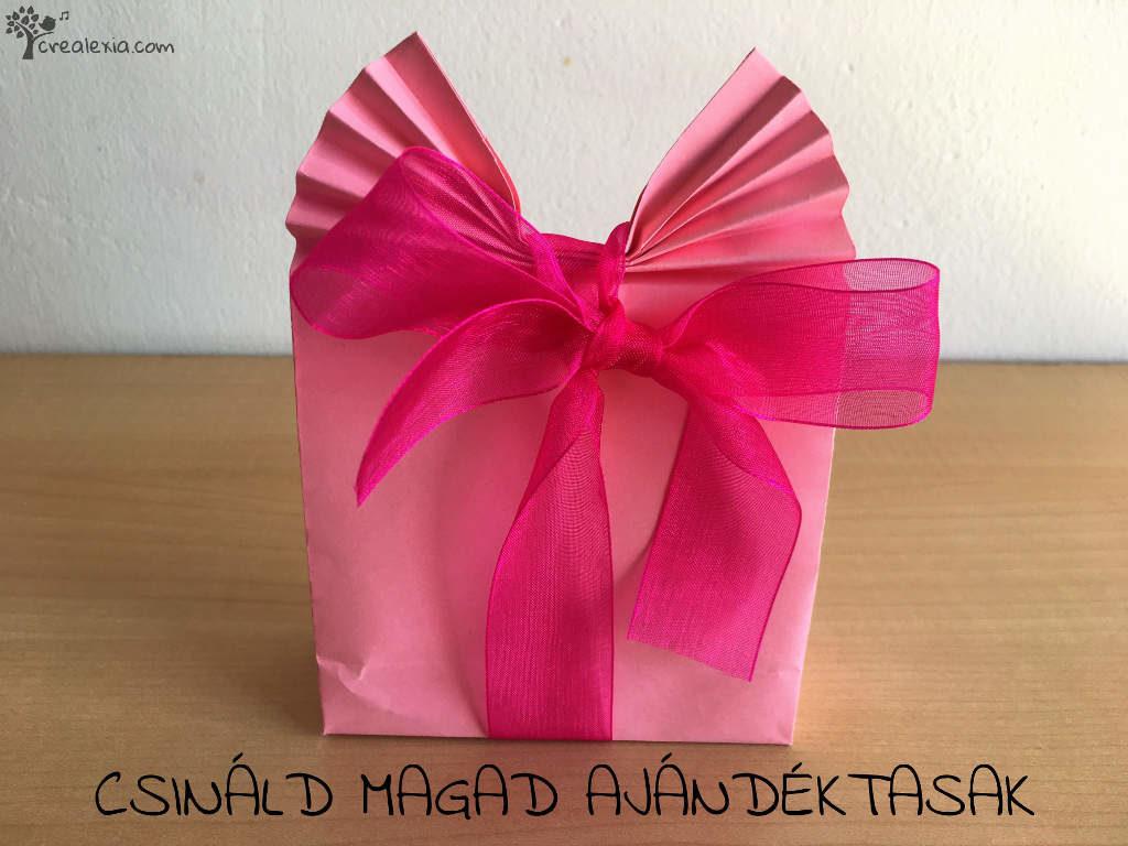 Csináld magad ajándék csomagolás