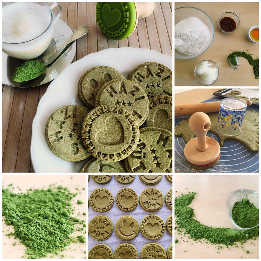 matcha zöldtea keksz recept