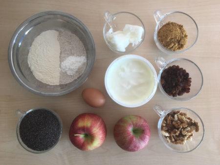 Almás-mákos süti recept