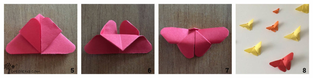 origami pillangó