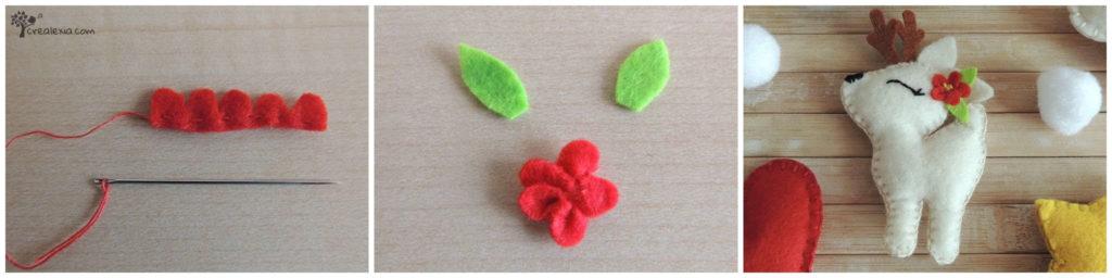 virág filcből