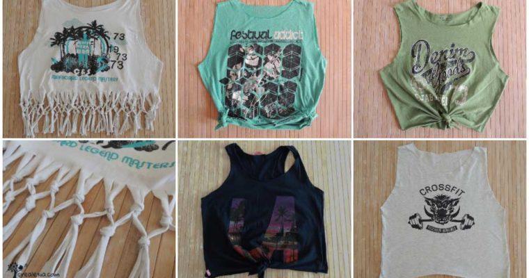 Hogyan alakítsd át megunt pólóidat