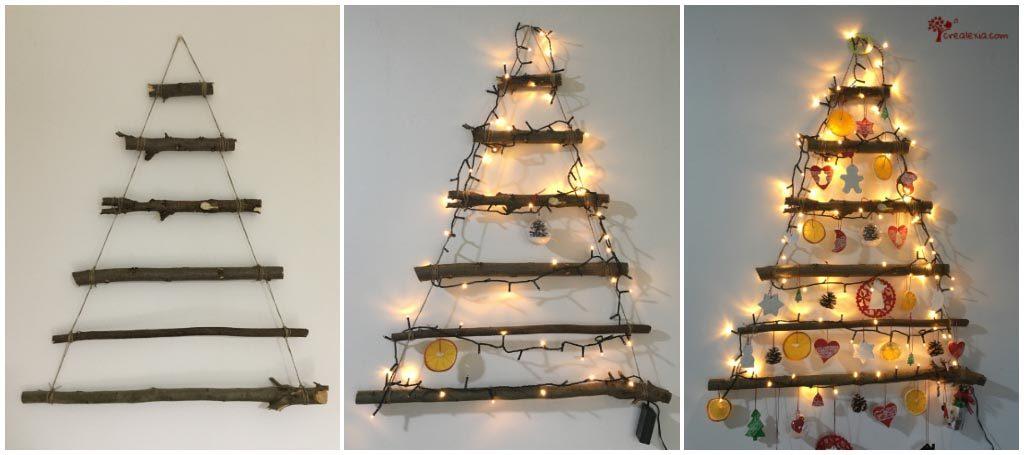 Alberi Di Natale Alternativi Fai Da Te.Albero Di Natale Alternativo Crealexia