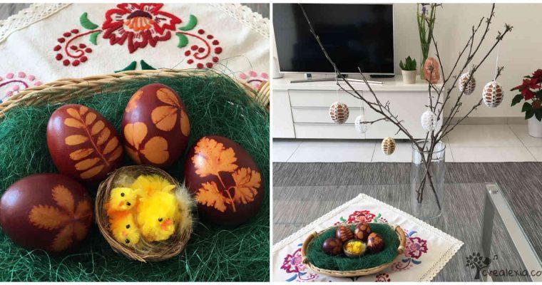Húsvéti berzselt tojás