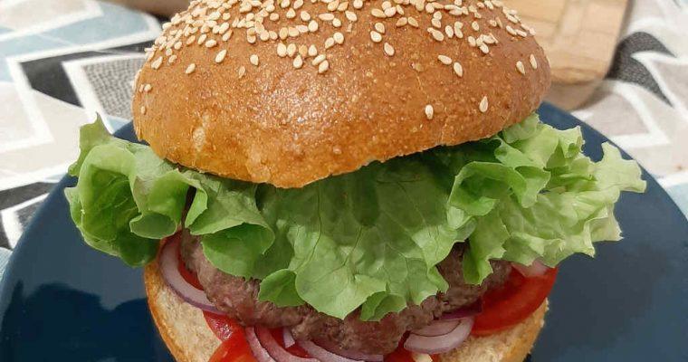 Panini per hamburger fatti in casa (8 burger buns)